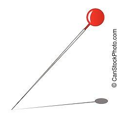 Red Knob Pin