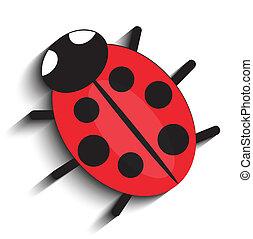 red ladybug,