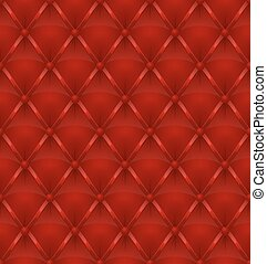red leather upholstery seamless