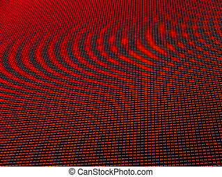 LED lights background - Red LED lights background