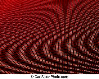 LED lights background - Red LED lights background