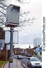 red light camera at an intersection - for red light camera...