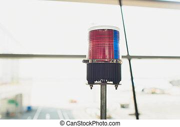 Red Light, emergency lights, Police lights, Siren.