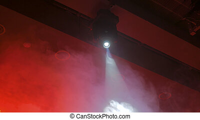 Red lighting stage device