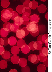 Red Lights - Defocused abstract red lights as a christmas...