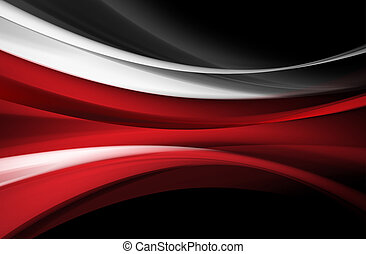 Red lines - white red gray lines on a black background that...