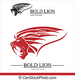 Red Lion combine with text