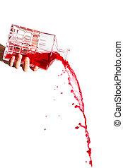 Red liquid poor