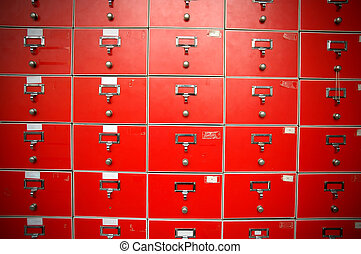 red locker