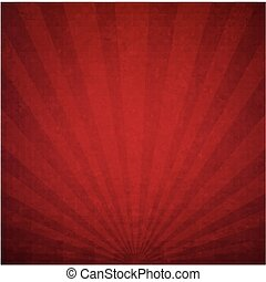 Red Luxury Sunburst Background