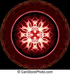 Red Magic Circle