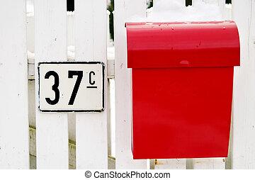 Red Mail Box
