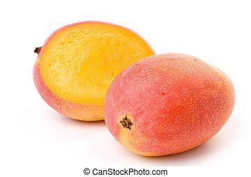 Red Mango close up shot