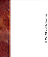 Red Marble Side Frame - Red marble side frame with copy...