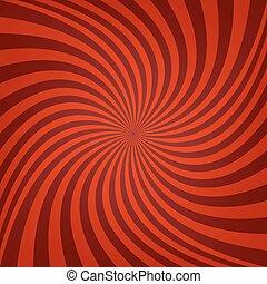 Red maroon spiral background