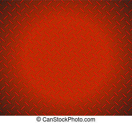 Red metallic texture illustration design
