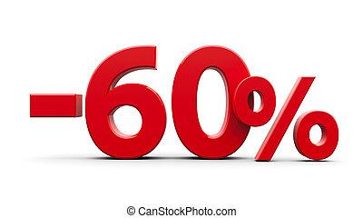 Red minus sixty percent