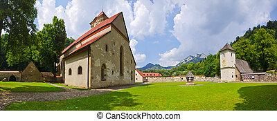"""Red Monastery """"Cerveny Klastor"""", Slovakia - Famous Red..."""