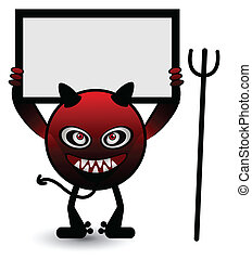 Red Monster Banner