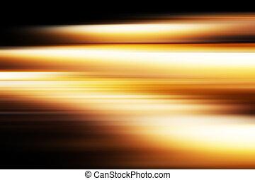 Red motion blur