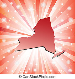 Red New York.