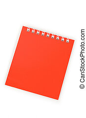 Note Pad - Red Note Pad close up shot