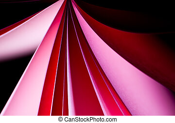 red notepad paper background I