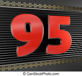 Number 95 Illustrations And Clipart  662 Number 95 Royalty