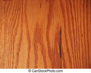 Red oak wood plank board useful as a background