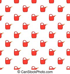 Red oiler pattern, cartoon style - Red oiler pattern....