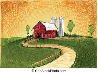 Red old Farm