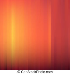 Red-Orange Abstract Striped Background. Vector Illustration.
