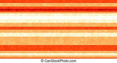 Red Orange Grunge Stripe Paper Texture. Retro Vintage Scrapbook Lines Background.