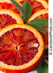 Red orange.