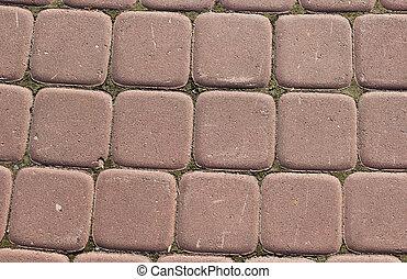 red outdoor floor tiles