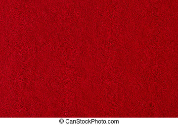Red paper background.