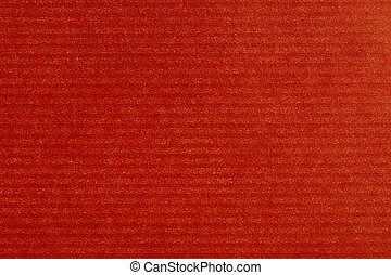 Red paper - Lined red wrapping gift paper wrap.