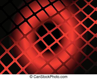 Red pattern background vector