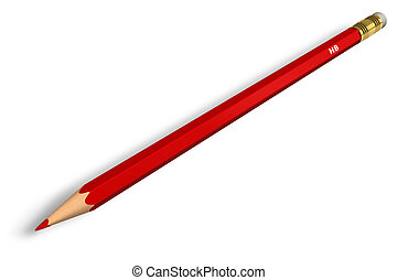 Red pencil  - Red pencil