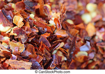 red chili pepper flakes