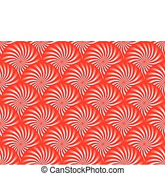 Red Peppermint Background