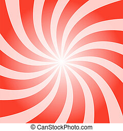 Red Peppermint Twist - Funky abstract purple background...