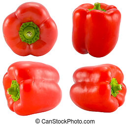 red peppers collection