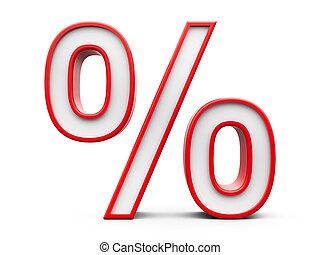 Red Percent #5