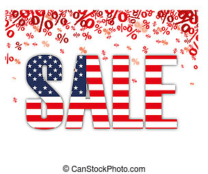 Red Percents USA Sale