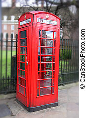Red Phone Booth - Red phone booth in London