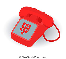 red phone for emergency call to 911