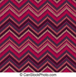 Red Pink Knit Texture Pattern