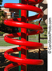 Red Plaground Equipment
