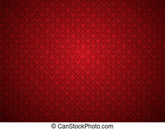 Red Poker Background - EPS 10